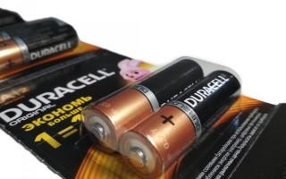 Батарейки АА и их технические характеристики