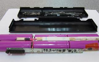Как лучше разобрать аккумулятор от ноутбука?