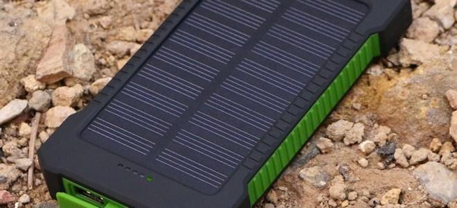 Как выбрать power bank на солнечных батареях?