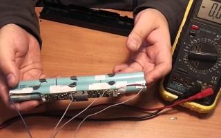 Восстановление аккумулятора ноутбука самостоятельно