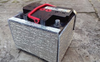 Как утеплить аккумулятор на зиму своими руками?