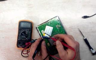 Методы восстановления аккумулятор телефона