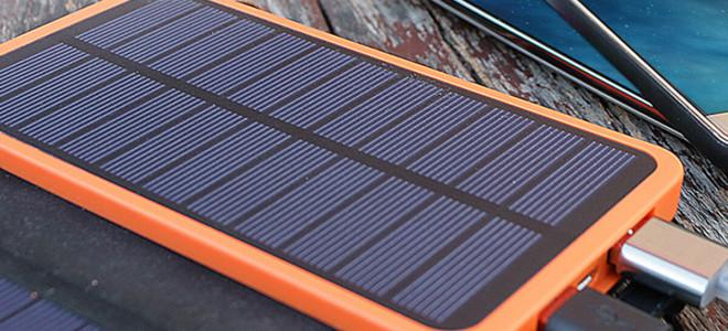 Зарядное устройство от солнечной батареи для мобильного телефона