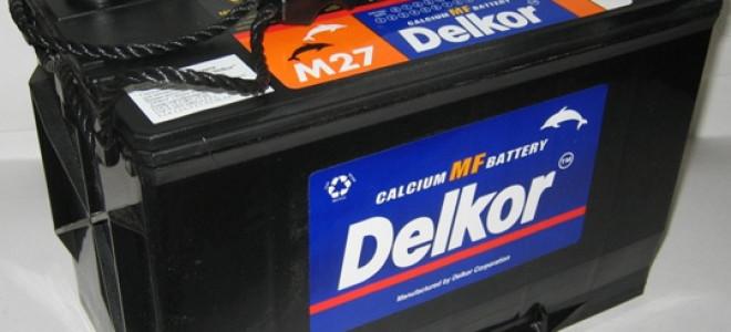 Корейские автомобильные аккумуляторы Delkor