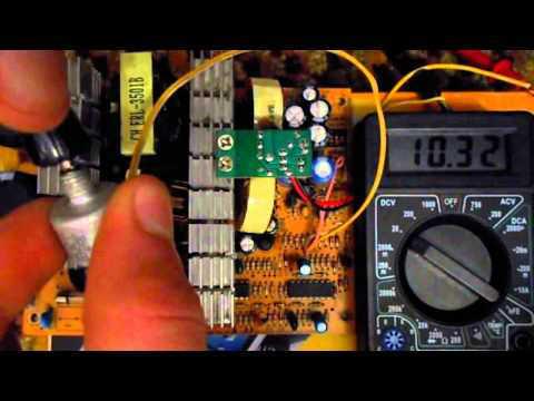 Зарядное устройство из компьютерного блока питания для автомобильной аккумуляторной батареи